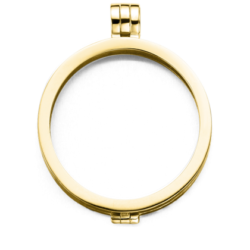 Medaillon gold-plated glad