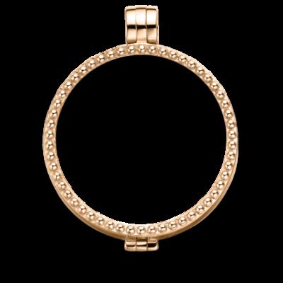 Medaillon rosegold-plated pearl
