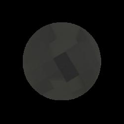 Onyx faceted gemstone