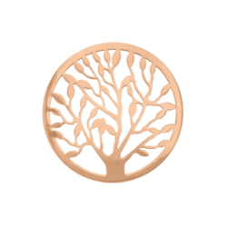 Tree of life cover rosegold-plat