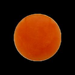 Pale orange dyed jade gemstone