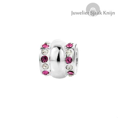 Bellini roze wit zirkonia