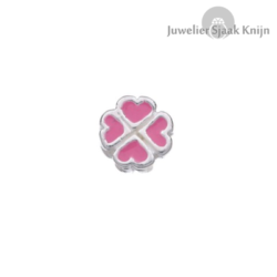 Bellini Klaver roze emaille