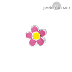 Bellini Roze bloem emaille