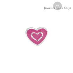 Bellini Hartje roze emaille