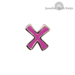 Bellini Letter roze X