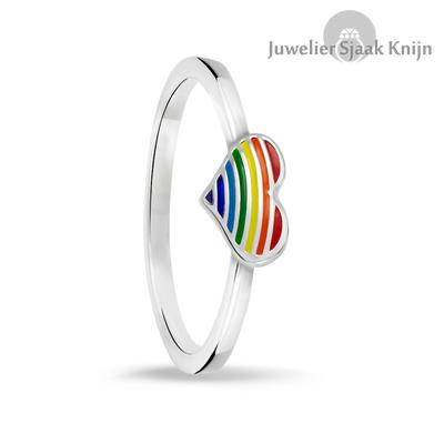 Bellini hart regenboog ring