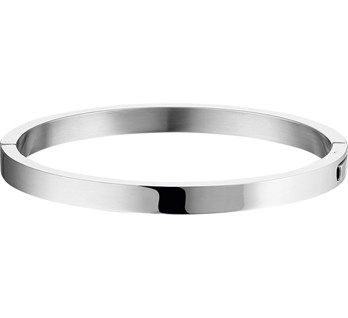 Bangle massief staal