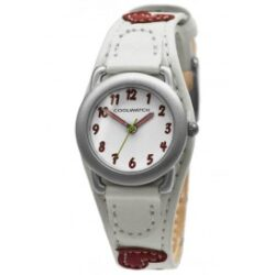 Cool Watch Hartjes wit-rood