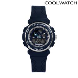 Cool Watch Pilot digitaal en analoog