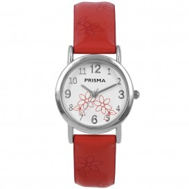 Cool watch bloem rood