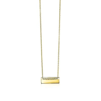 Zinzi Gold 14 karaat gouden jasseron ketting