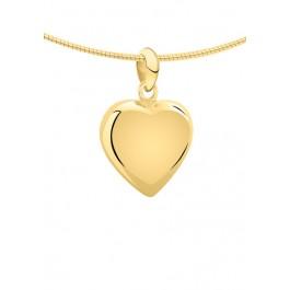 1250g geelgouden ashanger hart klein