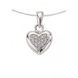 1251z zilveren ashanger hart met zirkonia
