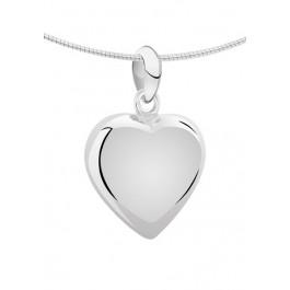 1260z zilveren ashanger hart middenmaat