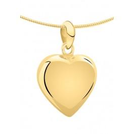 1270g geelgouden ashanger groot hart