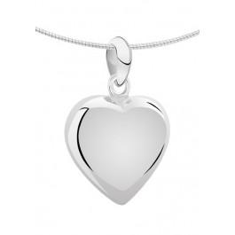 1270z zilveren ashanger groot hart