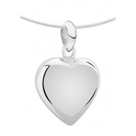 1280z zilveren ashanger XL hart
