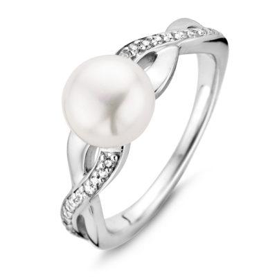 Rosa di Luca zilveren ring parel