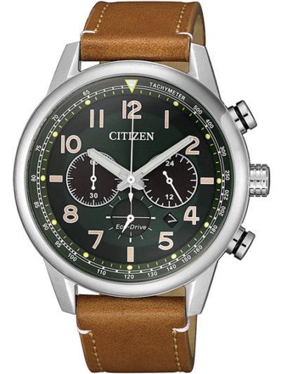 Horloge Eco-Drive Chrono Groen