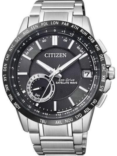 Horloge Eco-Drive Satellite Wave