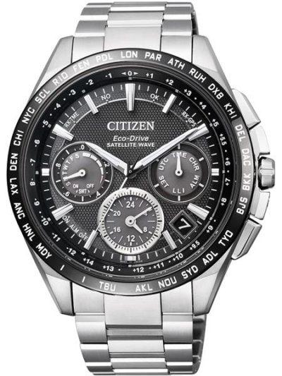 Horloge Eco-Drive Satellite Wave F900 Titanium