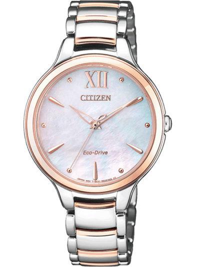 Horloges dames Eco-drive elegance Bicolor