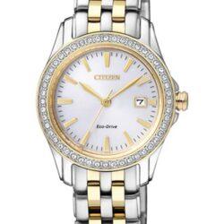 Horloges dames Eco-drive elegance Bi-color