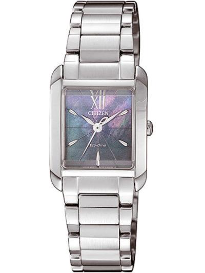 Horloges dames Eco-drive Ladies parelmoer
