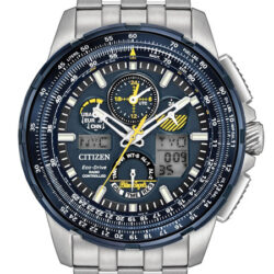 Radio Controlled Eco-Drive Blue Angels Horloge