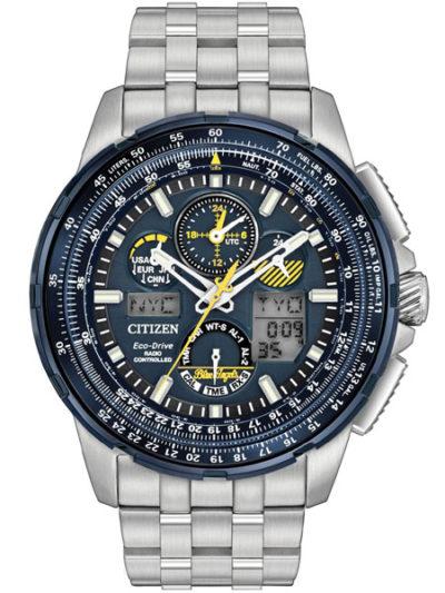 Radio Controlled Eco-Drive Blue Angels Horloge