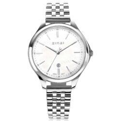 ZINZI Classy horloge 34mm Parelmoer Bicolor