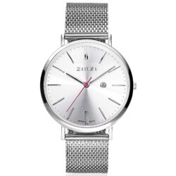 ZINZI Retro horloge 38mm extra dun