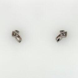 Wit gouden oorknoppen