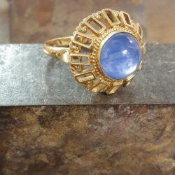 blauwe chalsedoon